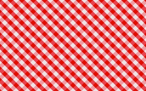 Picture white, red, canvas, Wallpaper, cells, fabric, tablecloth