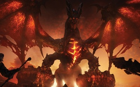 Picture World of Warcraft, Cataclysm, Delving, Deathwing