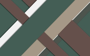 Picture line, green, geometry, brown, design, material