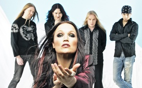 Picture Nightwish, Marco, Jukka, Thomas, Erno, Tarja