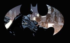 Picture logo, Batman, comics
