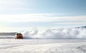 Picture Range Rover, Snow, Sport, Land