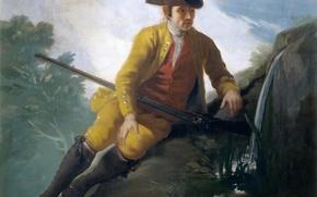 Wallpaper picture, genre, Francisco Goya, Hunter at the Source