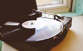 Picture music, player, vinyl, record