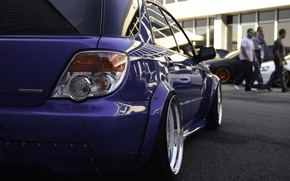 Picture Subaru, Impreza, JDM, Stance, Low, BellyScrapers, Rotiform