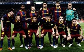 Picture Barcelona, Champions League, Team, Camp Nou