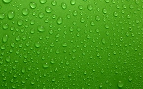 Picture Drops, Green, Background