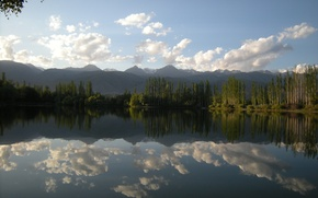 Picture Kyrgyzstan, And Kul, Fish farm