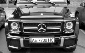 Picture mercedes, black, tuning, gelaendewagen