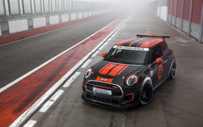 Wallpaper car, mini, tuning, john cooper, works challenge