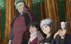 Picture naruto, boys, the second Hokage, manga 622