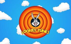 Picture The sky, Clouds, Wallpaper, Wallpapers, Bugs Bunny, Looney Toones, Cartoon, Funny ringtones