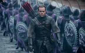 Picture Matt Damon, Matt Damon, The Great Wall, Great wall