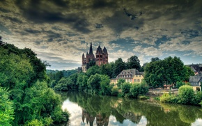 Picture Germany, Limburg an der Lahn, Limburg an der Lahn, The Cathedral Of St. George