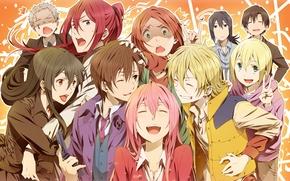 Picture Anime, art, Anime, Taki Divide Yoshi'no, It Takuji, Fuwa Mahiro, Hoshimura Junichirou, Kusari The Tetsu ...