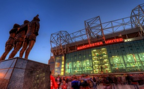 Wallpaper Old Trafford, Manchester United