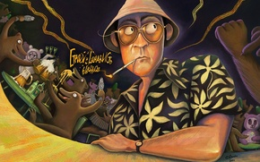 Picture Johnny Depp, Art, The film, Fear and loathing In Las Vegas, Raul Duke, Fear and …