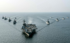 Wallpaper army, USS Ronald Reagan (CVN 76), Navy, weapons
