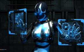 Picture cyborg, Sci-Fi, CYBORG COMPUTING