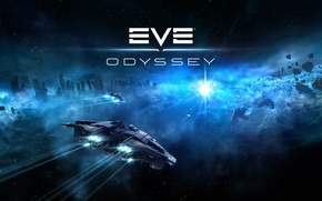 Picture space, space, spaceship, EVE online, Odyssey, CCP Games, New Eden
