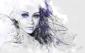 Picture Figure, girl, Art