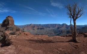 Picture the sky, nature, rocks, USA, grand canyon
