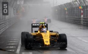 Picture Renault, Reno, Formula 1, Team, Monte Carlo, Palmer, Damp