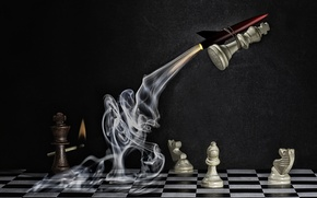 Picture chess, figure, Explosive Checkmate
