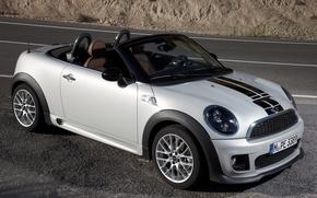 Picture Road, Machine, Grey, Mini Cooper, MINI, Mini Cooper