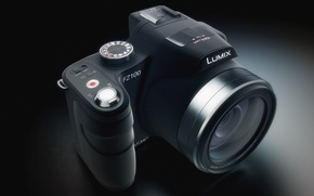 Picture the camera, lumix, fz100, panasonic