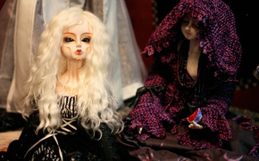 Picture doll, doll, blonde, doll, BJD