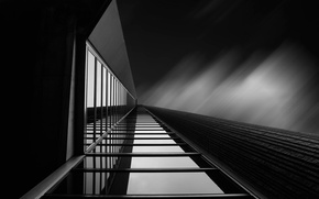 Picture glass, line, reflection, Canada, Toronto, architecture