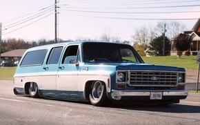 Picture low, Chevy, suburban, pneumo