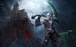 Picture the game, art, necromancer, Xul in Heroes of the Storm, XUL