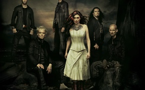 Picture metal, gothic, Within Temptation, Sharon den Adel, symphonic, The Heart of Everything
