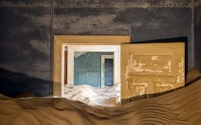 Picture sand, background, the door