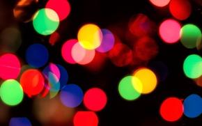 Wallpaper light, circles, background, color, circles