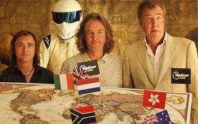 Picture map, Jeremy Clarkson, Top Gear, Stig, Jeremy Clarkson, Richard Hammond, James May, Richard Hammond, James …
