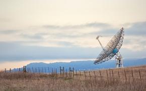 Picture California, Radio Telescope, Stanford University