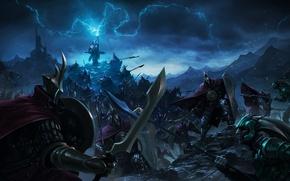 Picture war, magic, zipper, sword, armor, art, spear, battle, shield, warriors, lords