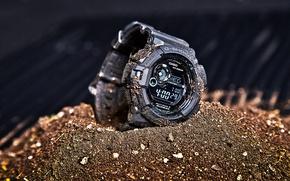 Picture watch, Casio, G-9300, Mudman, G-Shock