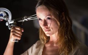 Picture cinema, demon, horror, Olivia Wilde, undead, woman, dead, movie, face, blonde, evil, film, lab, scientist, …