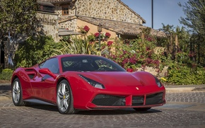 Picture Ferrari, GTB, 488, House