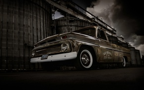 Picture background, Chevrolet, Chevrolet, pickup, the front, Truck, Pickup