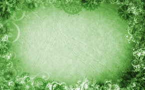 Picture leaves, green, background, texture, texture