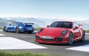 Picture 911, Porsche, red, GT3, 2013