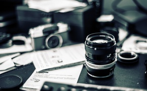 Picture camera, bokeh, lens, mess, Carl Zeiss