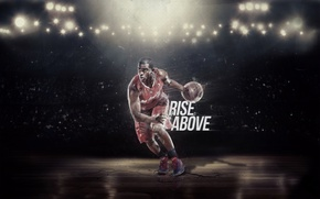 Picture The ball, Light, Basketball, Form, NBA, Player, Paul Rise