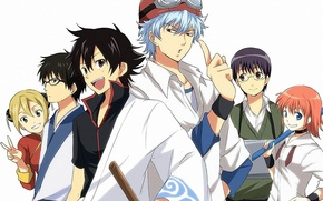 Picture gintama, Gintoki, Gintama, Kagura, sket dance, Shinpachi