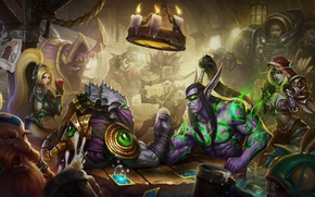 Picture Heroes of the Storm, diablo, Tychus more, Anub'arak, starcraft, nova, illidan stormrage, Zeratul, viking, Nazeebo, ...